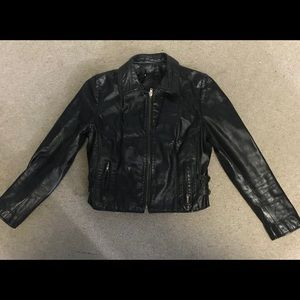 Other - Women's Black Leather Jacket
